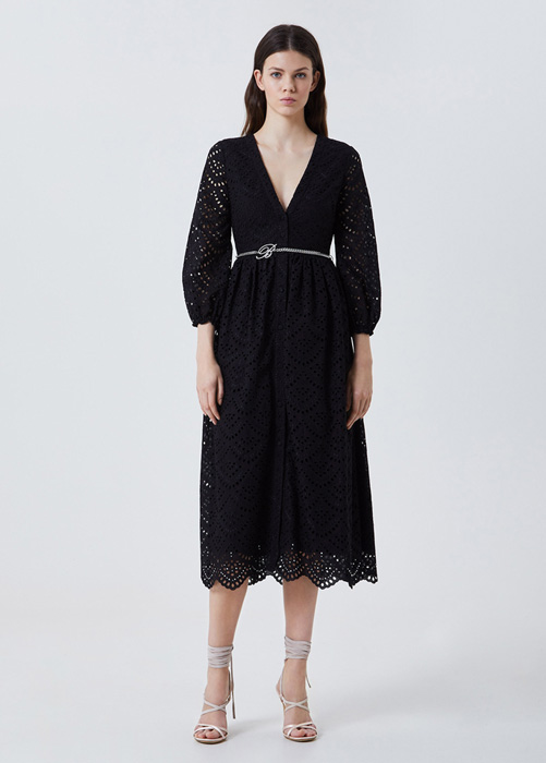 BLUFIN: SANGALLO EMBROIDERY SHIRT DRESS